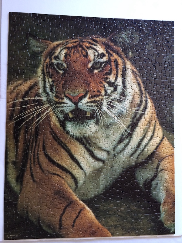 Brand: Springbok Title: Tiger Tiger Burning Bright Pieces: 500 Size: 18