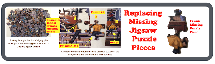 How To Replace Missing Jigsaw Puzzle Pieces
