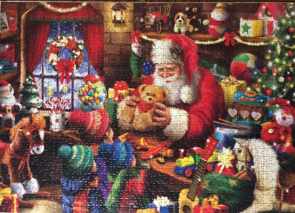 9963c7b85091 Santa's Toy Shop Jigsaw Puzzle