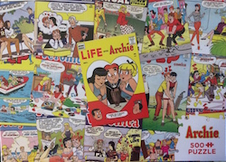 Cobble Hill Puzzle Company Archie Series – Archie Covers 500 Pieces – 26.625×19.25""