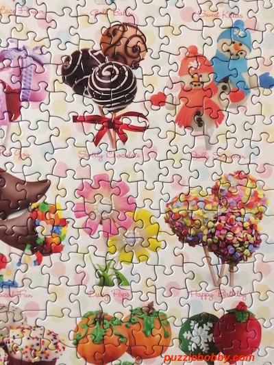 EuroGraphics Cake Pops 1000 Piece Puzzle