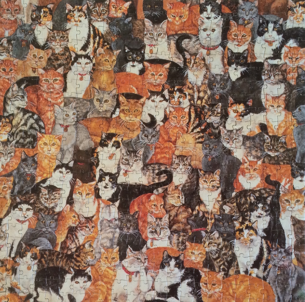 world s most difficult jigsaw puzzles cats edition
