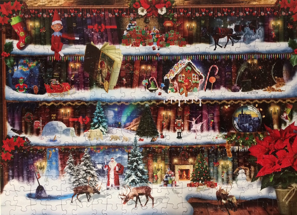 Brand: Eurographics  Title: Christmas Stories Puzzle  Artist: Paul Normand  Size: 19.25