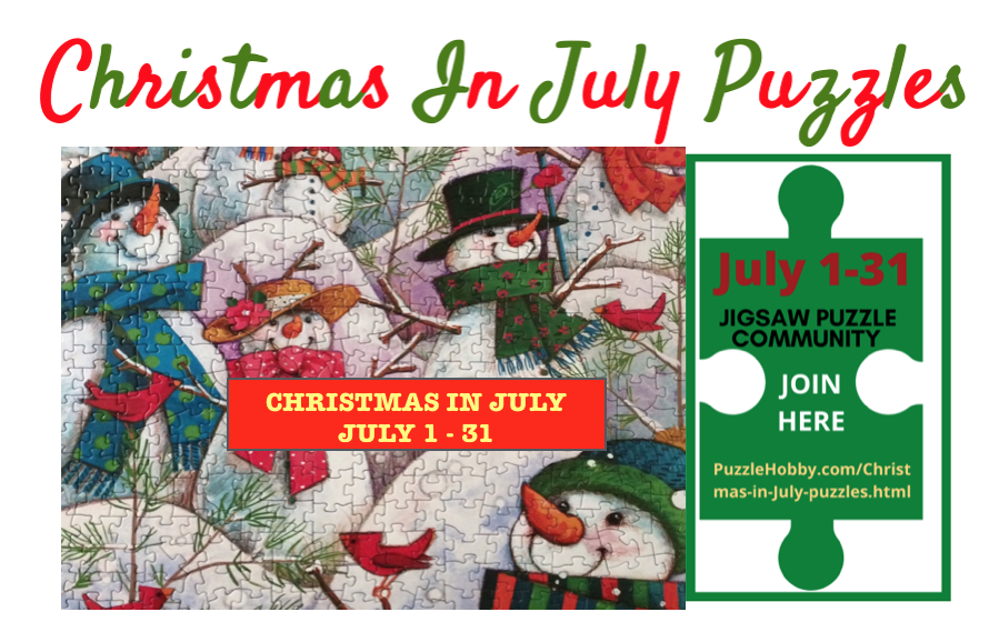 We love Christmas In July so much that we hope you will share with us your wrapped Christmas presents, your decorated Christmas tree and maybe even your Christmas decor.