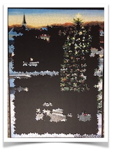 Left TREE for LAST  -  The Village Tree -  Cobble Hill Puzzle Company -  1000 Pieces - 19.25