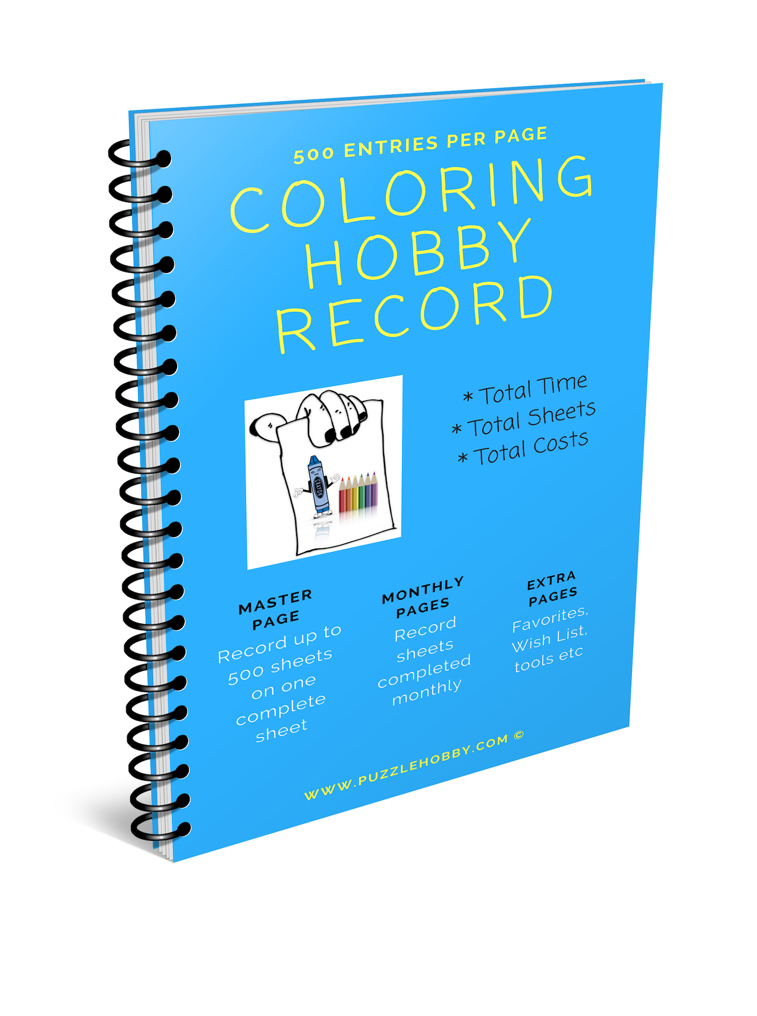 Coloring Hobby Record