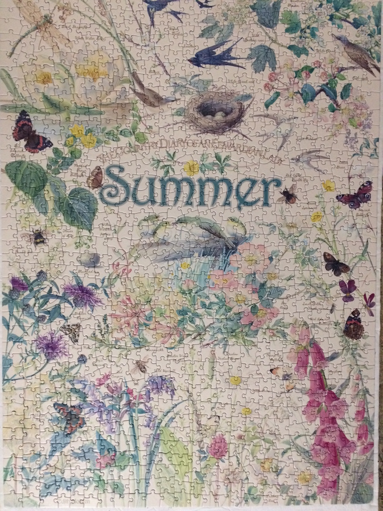 Brand: Cobble Hill Puzzle Company  Title: Diary of an Edwardian Lady Jigsaw Puzzles - Summer  Pieces: 1000  Size: 19.25x26.625