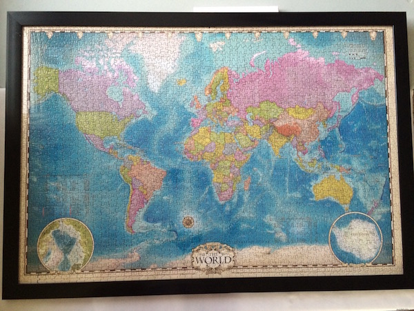 World Map Eurographics jigsaw puzzle 2000 pieces