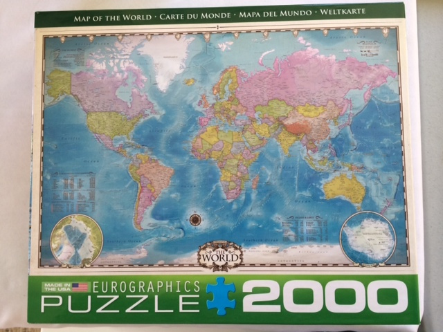 World map jigsaw puzzle gumiabroncs