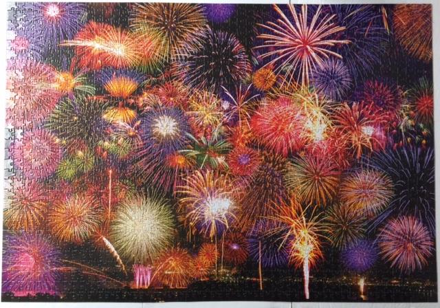 Brand: Cra-Z-Art  Colorluxe Premium puzzles  Title: Fireworks Symphony puzzle  Pieces: 1500   Size: 23