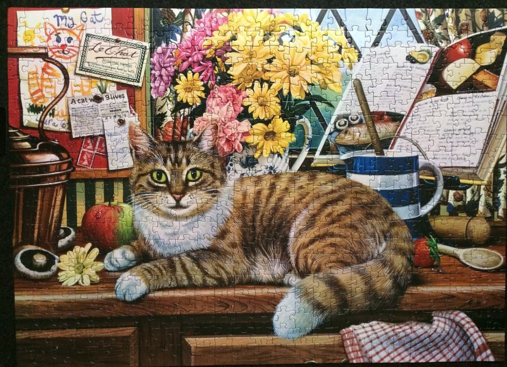 Brand: Cobble Hill Puzzle  Title: Matilda Puzzle  Artist: Geoffrey Tristram  Pieces: 500 Poster Included  Size: 19.25