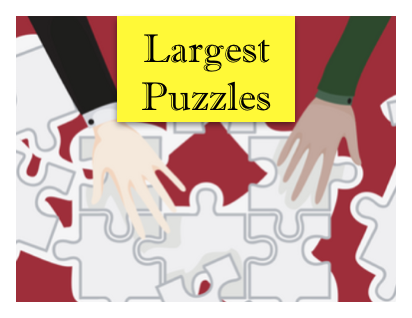 NUOBESTY Round Puzzle 500 Pieces for Adults Jigsaw Puzzle Zodiac Horoscope Puzzle Educational Toys 48x48cm