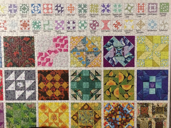 Common Quilt Blocks Jigsaw Puzzle