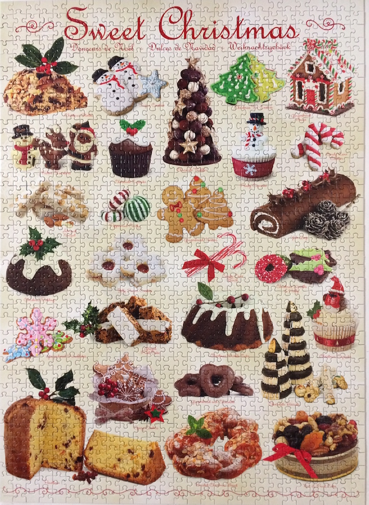 Brand: Eurographics  Title: Sweet Christmas puzzle  Size: 19.25