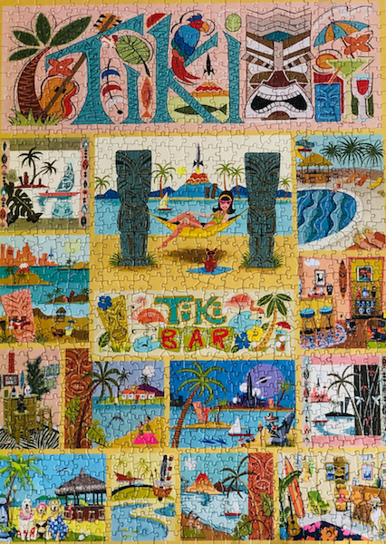 Frankly I thought the Tiki Time puzzle sign would be much easier than it turned out to be but I enjoyed the challenge. I can easily highly recommend this great quality puzzle.