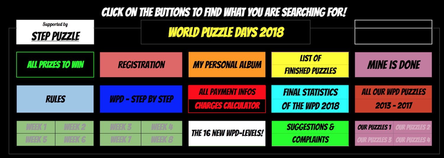 world puzzle days 2018 faqs