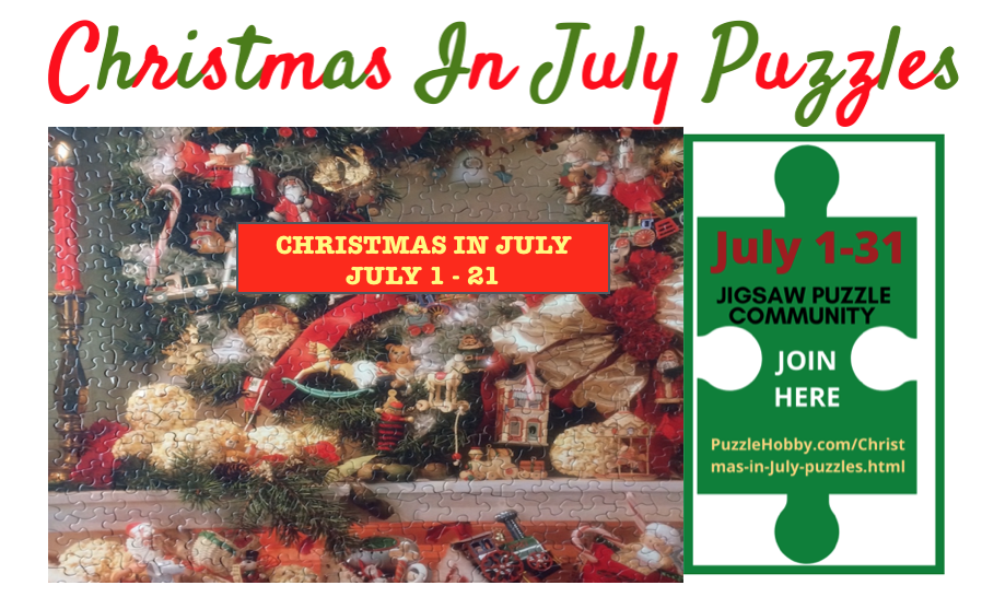 It will be interesting to see how many puzzlers will participate in the Christmas in July Puzzles Event