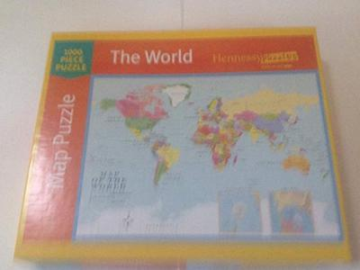 Hennessy jigsaw puzzle Map of the World-2