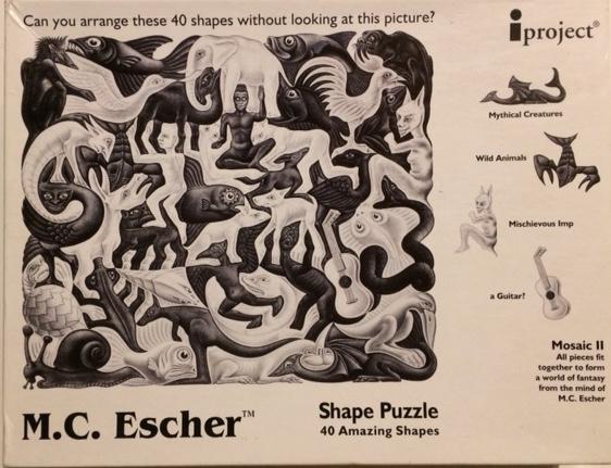 Brand: Holland 1999 Puzzle, M.C. Escher