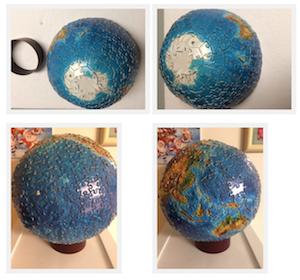 Brand: Buffalo Games, INC Title: 3D Spherical World Globe