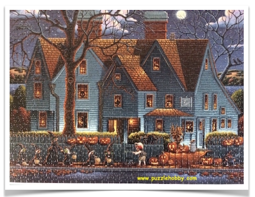 ARTIST-ERIC-DOWDLE-The-House-of-Seven-Gables-1000-pieces