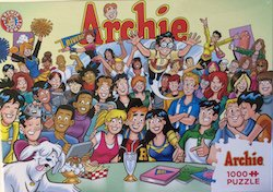 Cobble Hill Puzzle Company Archie Series – The Gang At Pops 1000 Pieces – 26.625×19.25""