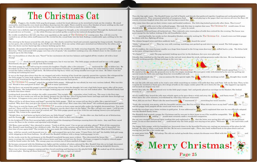 Brand: Pastime, Title: Christmas Cat, Pieces: 1000, Size: 20x26