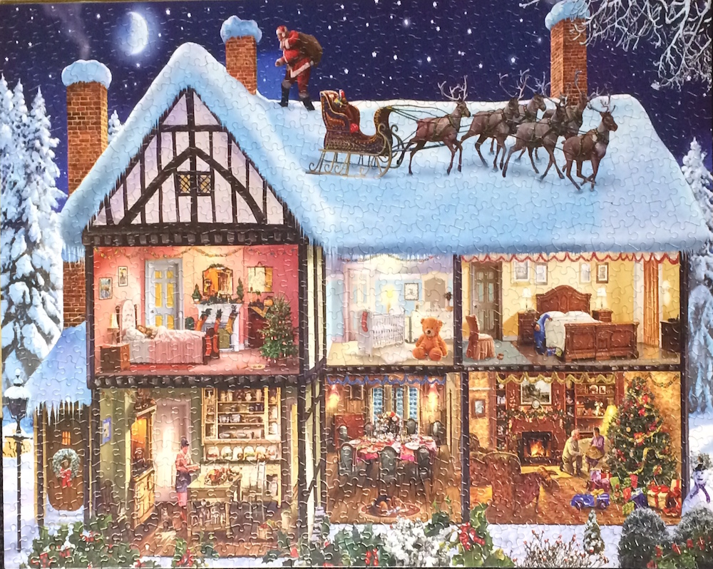 Christmas-house-puzzle