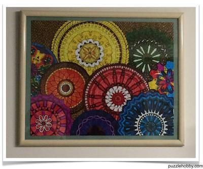 Brand: Karmin jigsaw puzzles, Title: Chakras Design, Extra: Mandala - Assemble then color, Pieces: 500, Size: 16