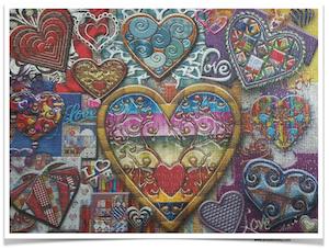 ARTIST-ANIE-MALTAIS-Glass-of-Hearts-JaCaRou-Puzzles-1000-Pieces