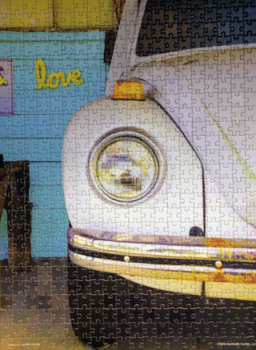 Brand: Gearheads Puzzle Shop, Title: Love Bug, By: Anslee Connell, Pieces: 500, Size: 22.5