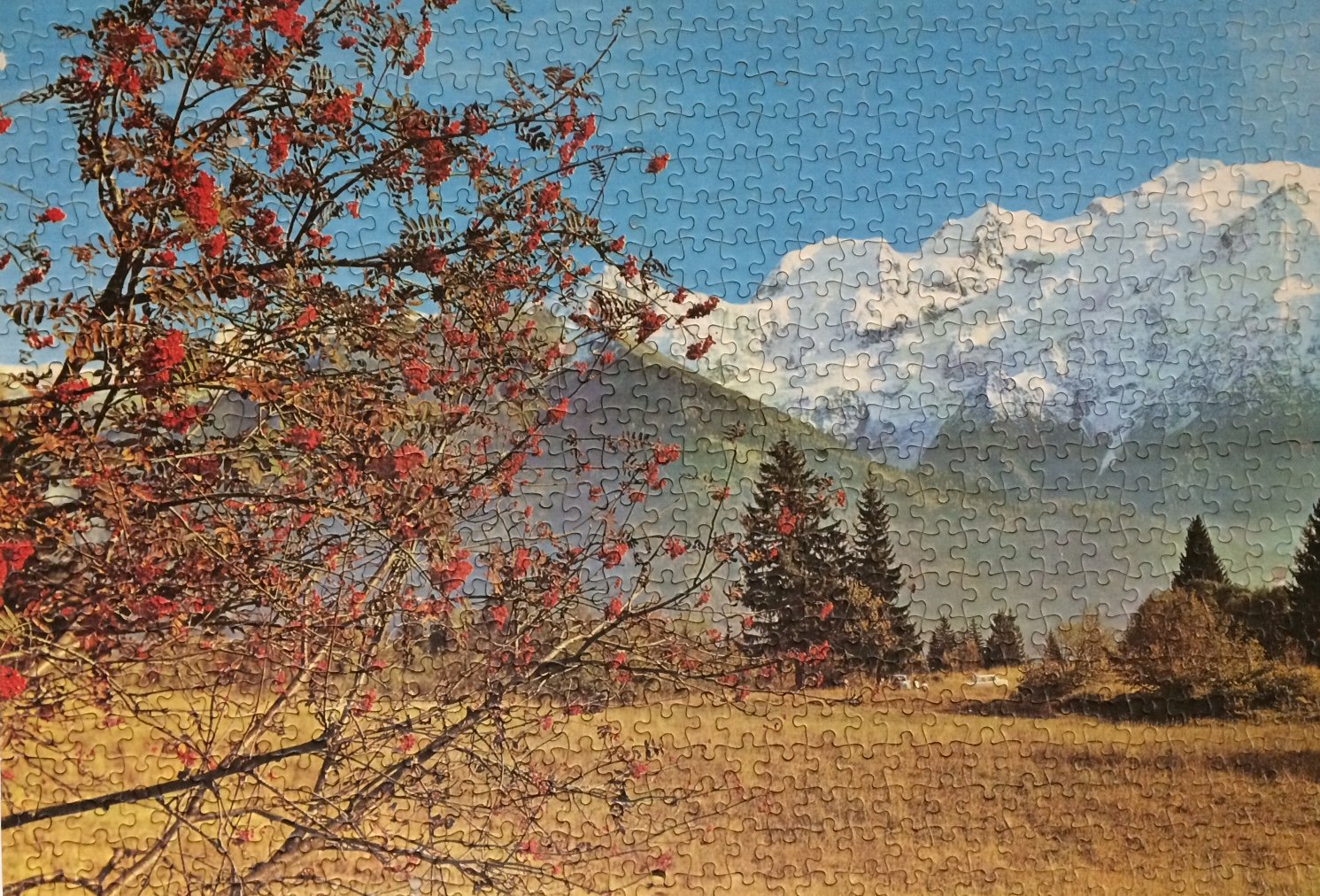 Brand: TUCO, Title: MT Blanc France jigsaw puzzle, Pieces: 700, Size: 22