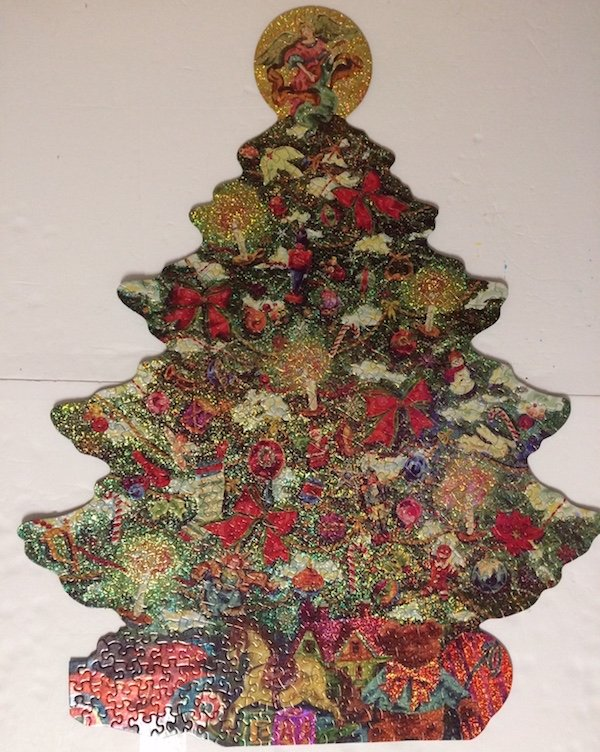 Brand: Springbok  Title: Sparkling Tree Jigsaw Puzzle  Size: 24