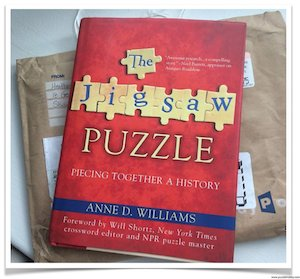 The Jigsaw Puzzle Book, Piecing Together A History by Anne D. Williams