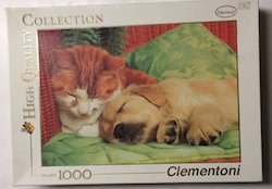 Adult jigsaw puzzles  Brand: Clementoni Title: The Truce Pieces: 1000 Size: 26.6